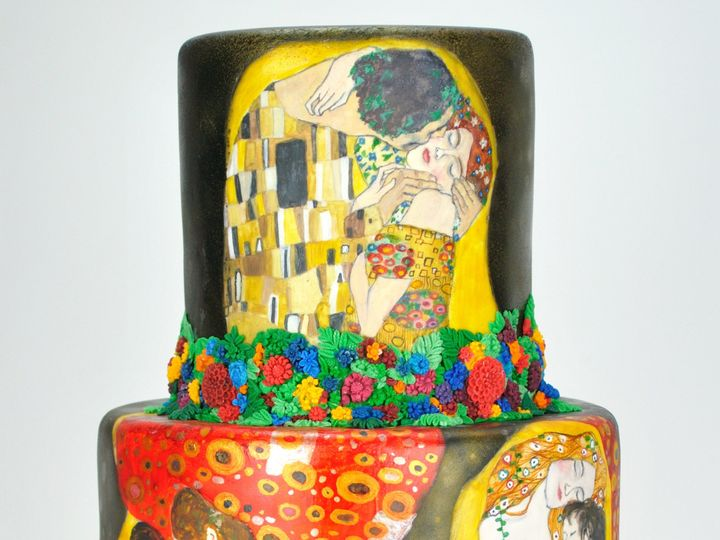 Tmx 1501518630144 Copy Of Klimt3 Teaneck wedding cake