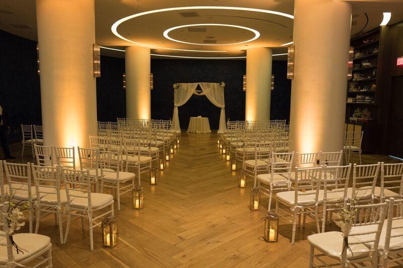 Indoor Ceremony for 150 guests