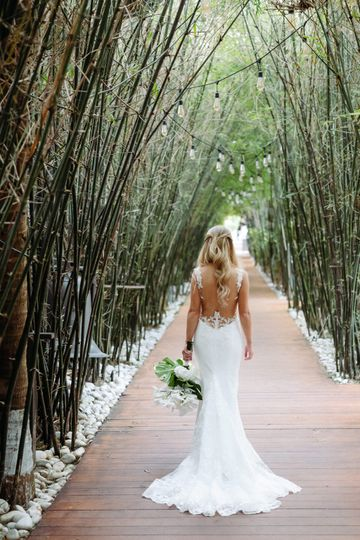 Our Magical Bamboo walkway