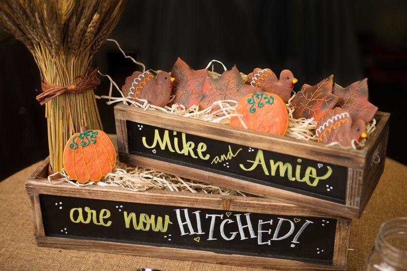 fall centerpiece cookie ideas arizona realswissmis