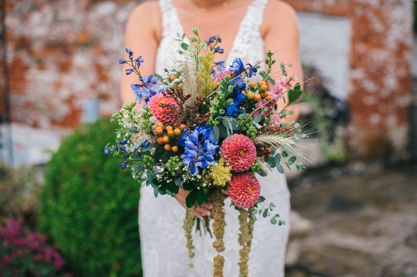 Bright Garden Flowers