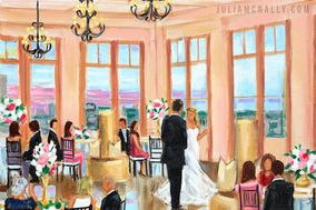 Julia McNally Fine Art & Live Event Painting
