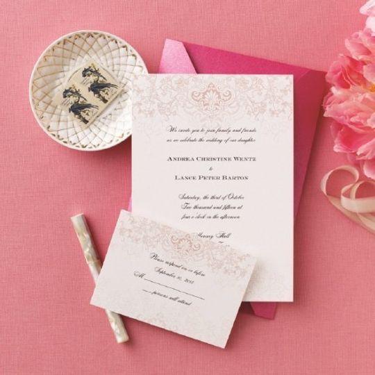 invitations by david s bridal invitations weddingwire