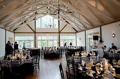 Romantic indoor reception