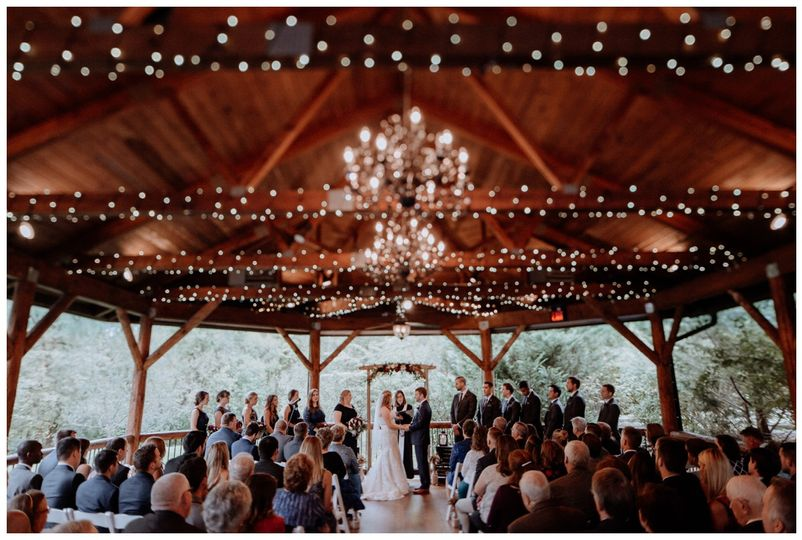 Ceremony in the Pavilion