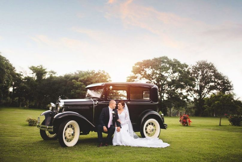 Classy wedding photo