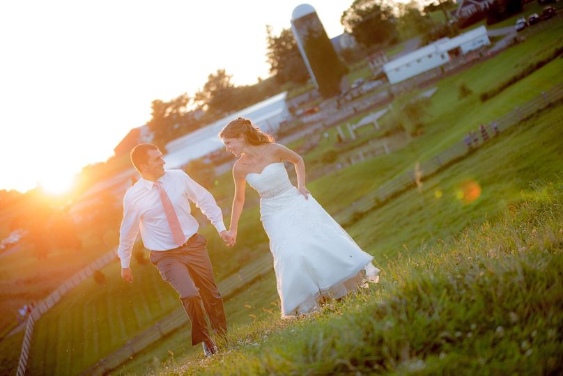 Sinkland Farms Sunset Reception.  Floyd Virginia