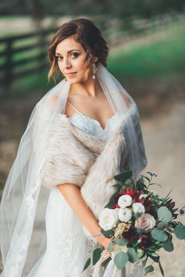 Stunning Winter Bride