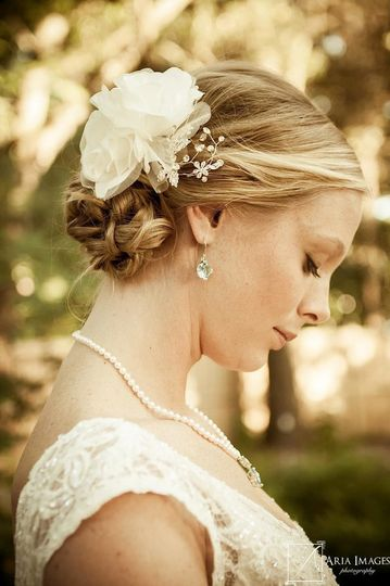North Bridal Hairstyles With Flowers : Bombshell brides beauty & health wilmington nc weddingwire