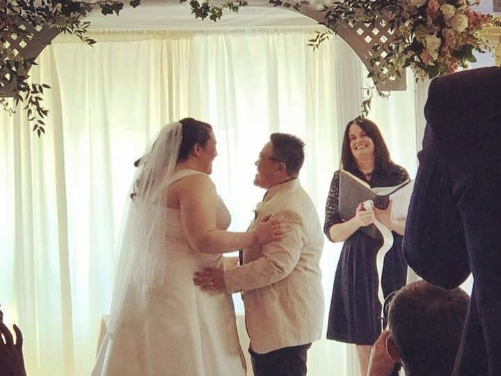 Tmx 1519603269 6294dbd2400c1b26 1519603266 Fbc12a0d0c83a069 1519603669998 2 Jinky Altar Belmar, NJ wedding officiant