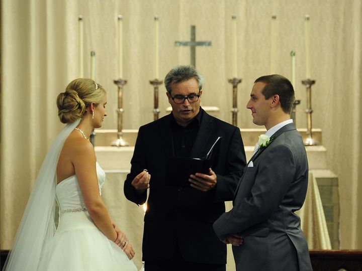 Tmx 1374975225330 Ashley And Drew 0407202013 Waukesha, Wisconsin wedding officiant