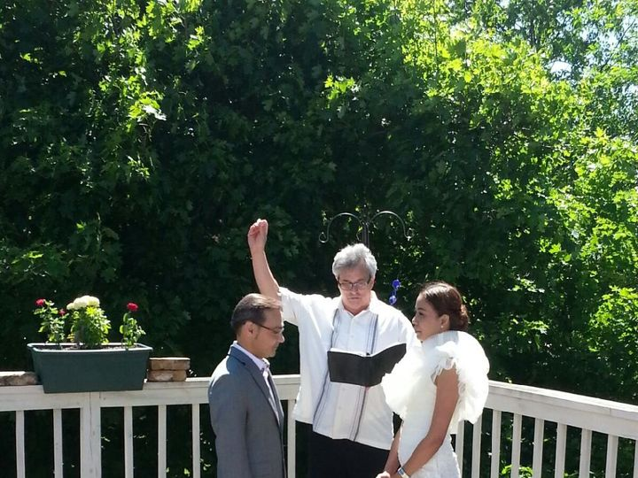 Tmx 1416542632393 Michael And Bat 3 Waukesha, Wisconsin wedding officiant