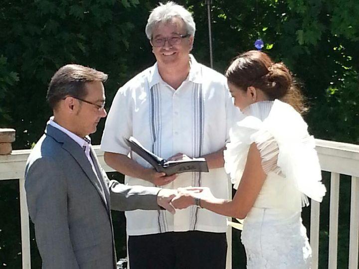Tmx 1416542654711 Michael And Bat 4 Waukesha, Wisconsin wedding officiant