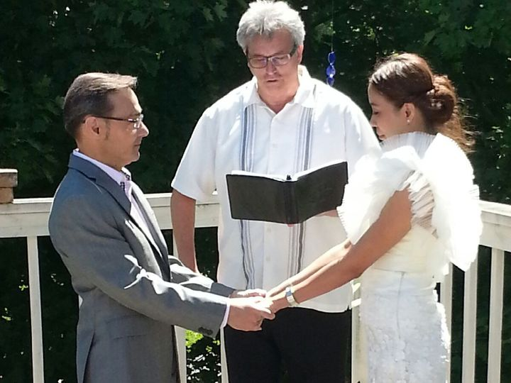 Tmx 1416542707287 Michael And Bat 8 Waukesha, Wisconsin wedding officiant