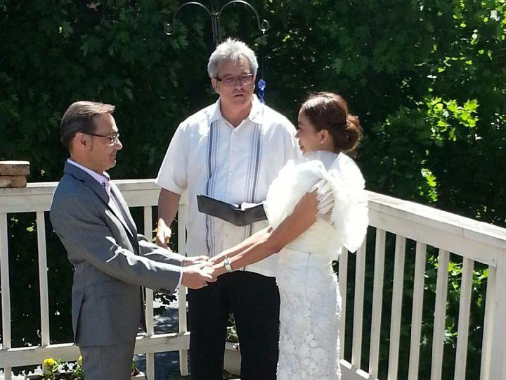 Tmx 1416542736660 Michael And Bat 10 Waukesha, Wisconsin wedding officiant