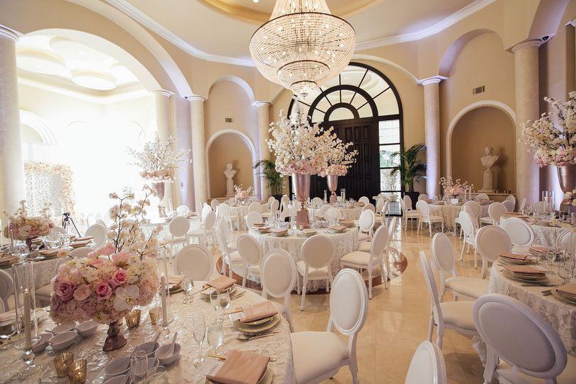 VIP Palazzo Indoor Reception