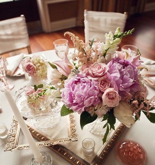 Tmx 1375545414695 Vintage Purple And Pink Centerpieces 500x532 Bradenton, Florida wedding florist