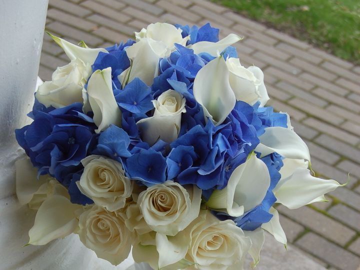 Tmx 1376336334814 Blue Hydrangea Bradenton, Florida wedding florist