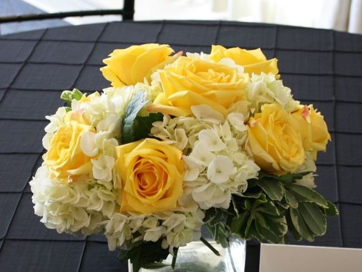 Tmx 1376413244362 Lemon Yellow Cube Vase For Wedding Centerpiece Bradenton, Florida wedding florist