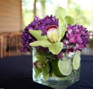 Tmx 1376413284924 Purple And Green Reception Table Bradenton, Florida wedding florist