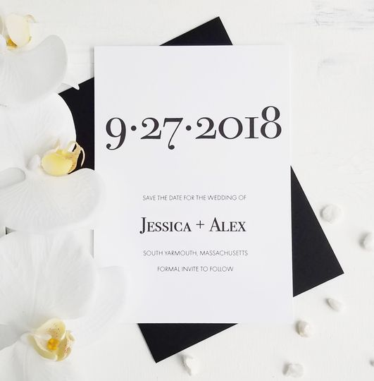 Clean Save the Date