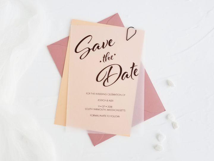 Tmx 6a02e9b0 E7ed 4298 A23f Cb40aa484b50 51 781522 158406134513718 Marstons Mills, MA wedding invitation