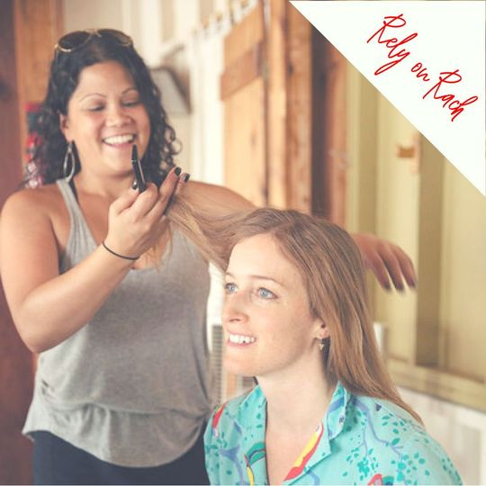 You can Rely on Rach for you wedding hairstyling needs.