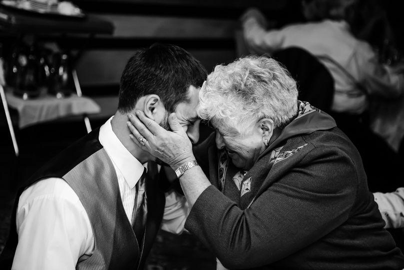 Groom and Grandmother