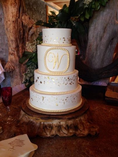 The Flour Sack Bakery Wedding Cake Brewton Al Weddingwire
