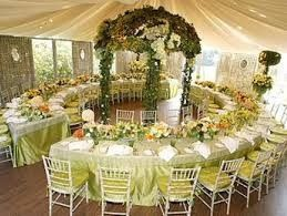 wedding circle table