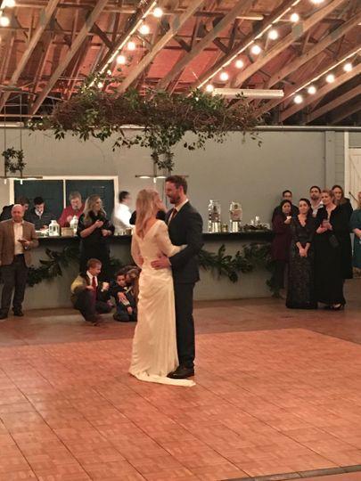Brooke and Pat's dance