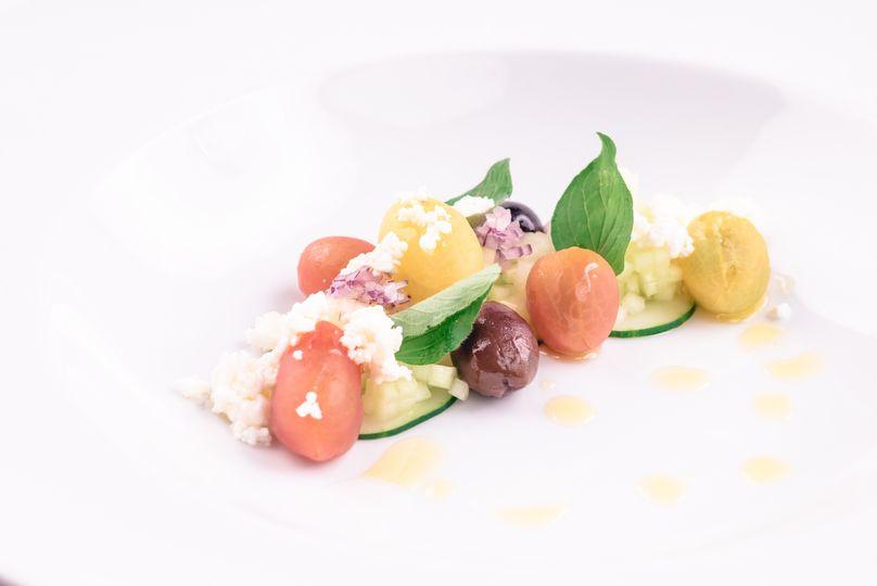 Contemporary Greek Salad
