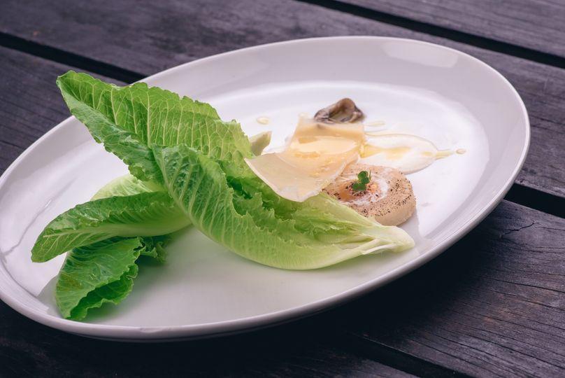 Contemporary Caesar Salad