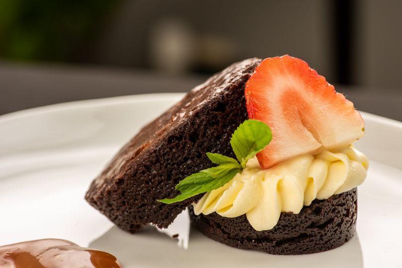 Double Chocolate Gateau