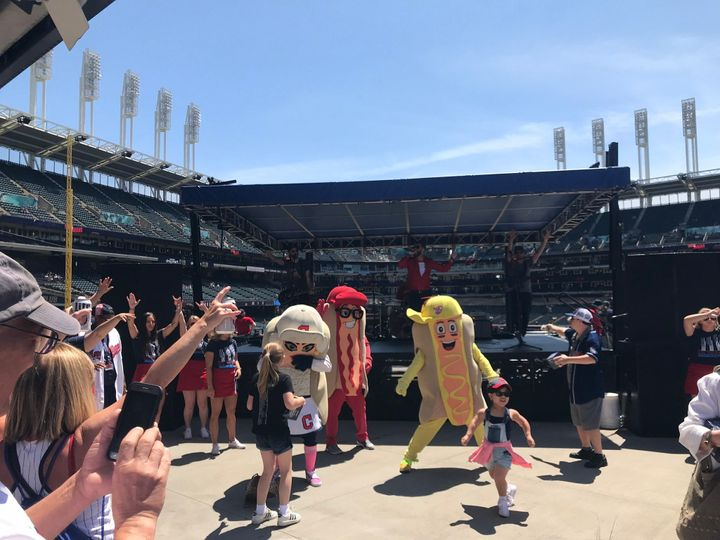 Hot dog dance party