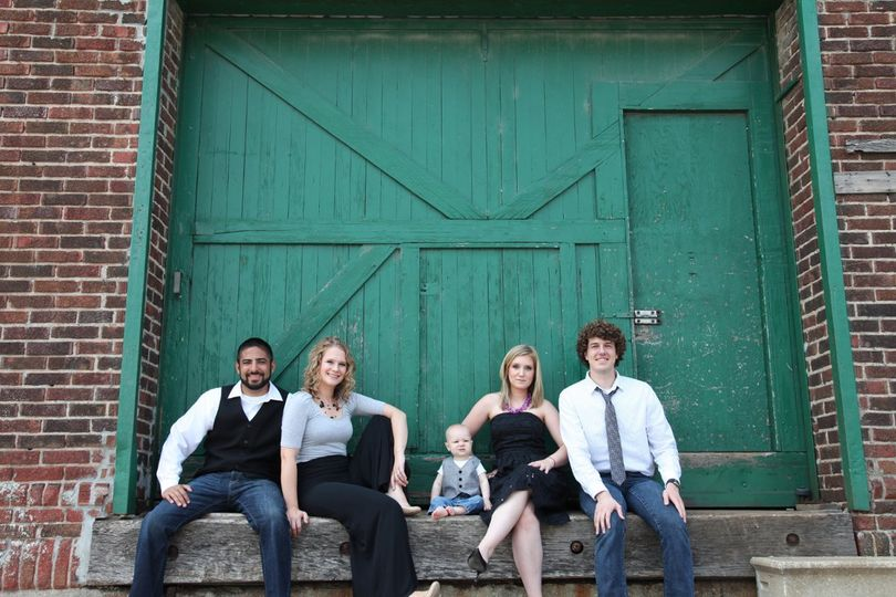 We're more than a 2 person team around here!  From left to right:  Jon, Sarah, Davis, Ginger, &...