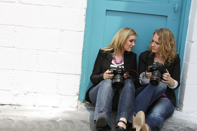 Promo shots by our back up photographer, make-up by Artistry by Camille.  They make us look good :)