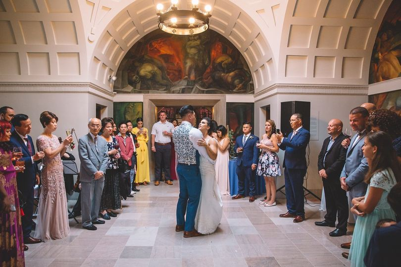 Dancing in Adolphus Busch Hall