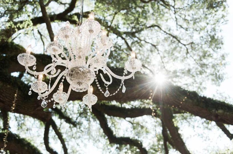 Crystal Wedding Chandelier