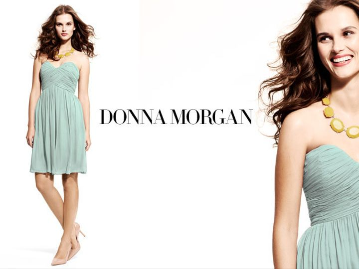 Tmx 1370461594375 Donna Morgan Bridesmaid Weddingheader King Of Prussia wedding dress