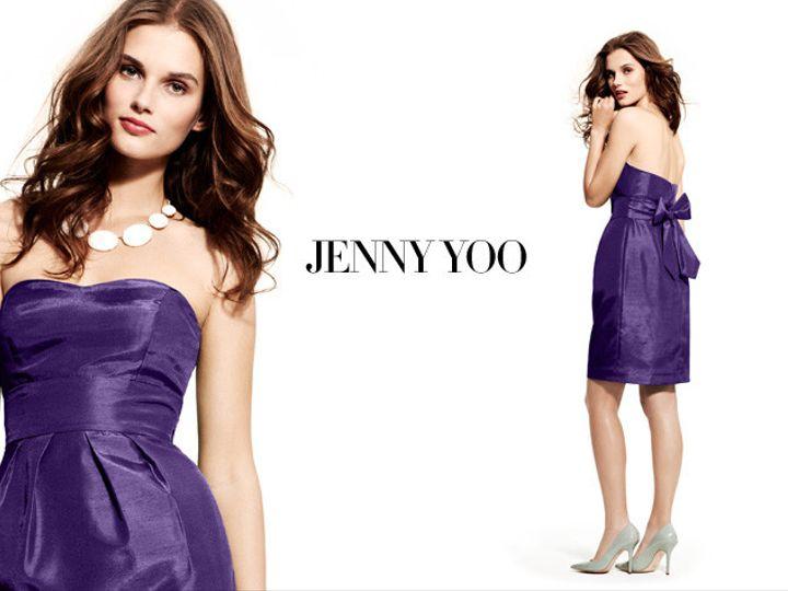 Tmx 1370461611041 Jenny Yoo Bridesmaid Weddingheader King Of Prussia wedding dress