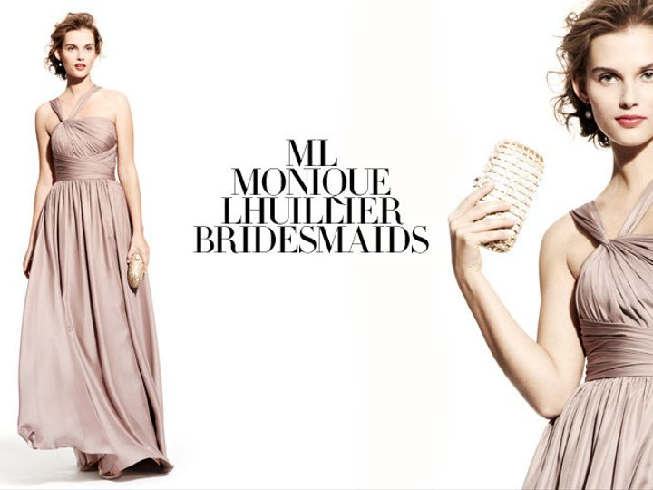 Tmx 1370461618159 Ml Monique Lhuillier Bridesmaid Weddingheader King Of Prussia wedding dress