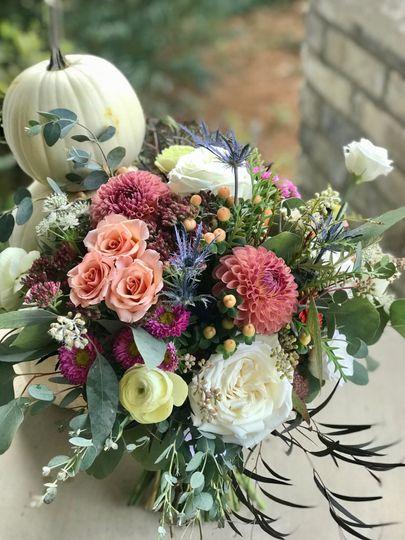 Rebecca's bouquet 10/20