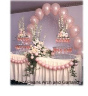 Affordable  Cake Table Decor at only $65.00 Balloon arches are great and simplistic. This Deal...