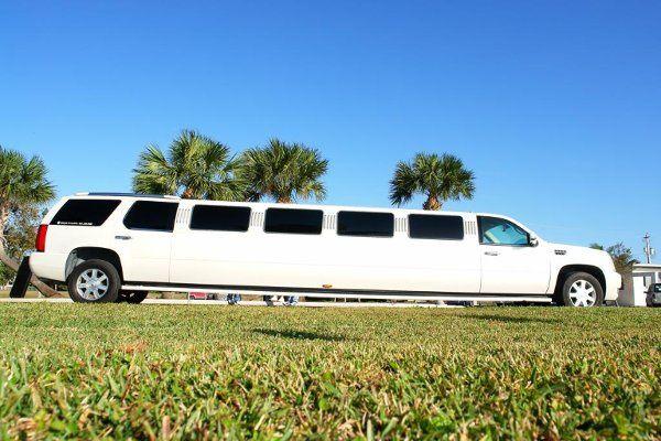 2008 22 Passenger Escalade Sleek white exterior with phenominal crome exterior accents. This...