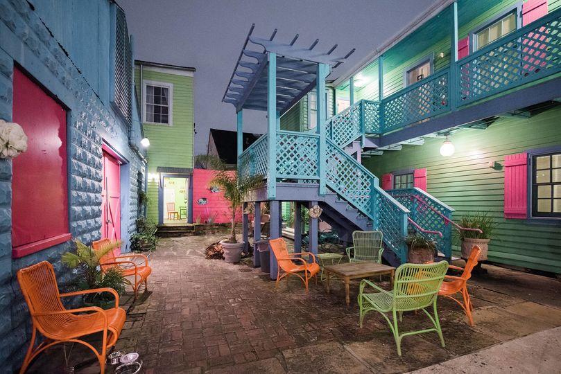 Courtyard at Creole Gardens