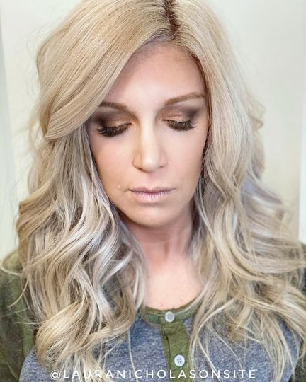 Hair and Makeup all glammed up