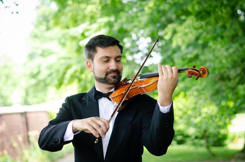 Devin Arrington, solo violin - Ceremony Music - Pittsburgh