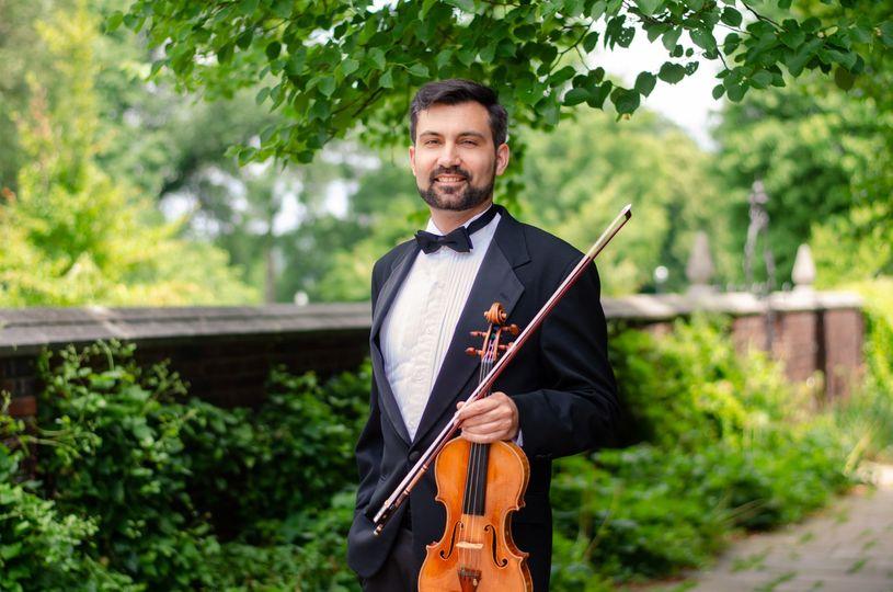 Devin Arrington, solo violin - Ceremony Music - Pittsburgh, PA
