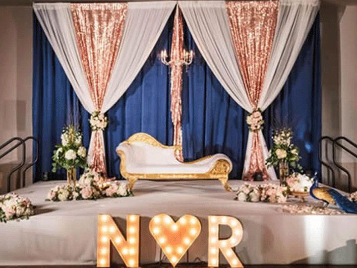 Tmx Navy Blue Pipe And Drape 51 554622 1561560135 Miami, FL wedding eventproduction